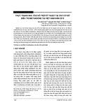 Thực trạng nhu cầu hỗ trợ kỹ thuật tại các cơ sở điều trị methadone tại Việt Nam năm 2015