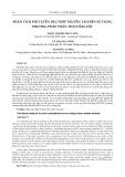 Phân tích phi tuyến trụ thép truyền tải điện sử dụng phương pháp phân tích dầm cột