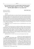 Yếu tố chuyển giao của hoạt động nhượng quyền thương mại trong lĩnh vực ăn uống – giải khát: trường hợp nghiên cứu tại Việt Nam