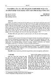 Tác động của các yếu tố quản lý đến hiệu suất của doanh nghiệp xuất khẩu thủy sản tỉnh Bà Rịa Vũng Tàu