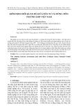 Kiểm định mối quan hệ giữa đầu tư và dòng tiền: trường hợp Việt Nam
