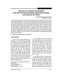 Hiệu quả của Hydroxychloroquine phối hợp với Corticosteroid trong điều trị bệnh lupus ban đỏ hệ thống