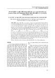 Thành phần và đặc điểm phân bố của các loài tôm hùm gai Panulirus White, 1847 (Palinuridae) ở khu bảo tồn biển Cù Lao Chàm, tỉnh Quảng Nam