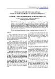 Tối ưu hóa điều kiện thủy phân giới hạn pectin vỏ chanh leo tạo pectic oligosaccharide (POS)