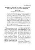 Ảnh hưởng của độ mặn đến sinh trưởng và thành phần sinh hóa của tảo Thalassiosira pseudonana (Hasle & Heimdal, 1970)