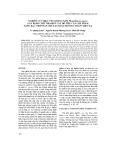 Nghiên cứu hiệu ứng kháng nấm Phytophthora capsici gây bệnh chết nhanh ở cây hồ tiêu của chế phẩm nano bạc chế tạo bằng phương pháp chiếu xạ