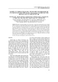 Nghiên cứu trình tự đoạn DNA chỉ thị trên gen ribosome 18s của một số loài hải miên tại khu bảo tồn biển đảo Cồn Cỏ, tỉnh Quảng Trị