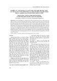 Nghiên cứu ảnh hưởng của chất điều hòa sinh trưởng thực vật lên sự phát sinh hình thái của một số giống sâm bố chính (Hibiscus sagittifolius Kurz) trong điều kiện in vitro