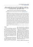 Khảo sát hoạt tính kháng khuẩn của một số cây thuốc dân gian tại vườn quốc gia Bidoup – Núi Bà được đồng bào dân tộc K'ho sử dụng trong điều trị tiêu chảy