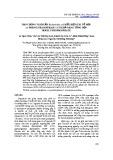 Tạo chủng vi khuẩn Escherichia coli biểu hiện tái tổ hợp cis-Prenyltransferase 1 có khả năng tổng hợp neryl pyrophosphate