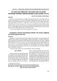 So sánh đặc điểm hình thái noãn giữa hai nhóm khởi động trưởng thành noãn bằng GnRH AGONIST và hCG