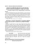 Khảo sát sự biến đổi gen NAT2 và GSTP1 mã hóa enzym chuyển hóa xenobiotic nam giới vô sinh