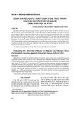 Đánh giá hiệu quả ly giải tế bào u đại trực tràng của vắc xin virut sởi và quai bị dùng phối hợp in vitro