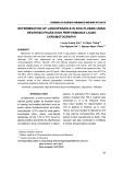 Determination of lansoprazole in dog plasma using reversed phase high performance liquid chromatography