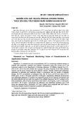 Nghiên cứu giá trị của procalcitonin trong theo dõi điều trị ở bệnh nhân nhiễm khuẩn huyết