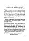 So sánh tác dụng gây tê tủy sống bằng hỗn hợp Ropivacain-morphin và Ropivacain-fentanyl trong mổ nội soi tán sỏi niệu quản ngược dòng