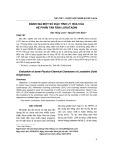 Đánh giá một số đặc tính lý hóa của hệ phân tán rắn loratadin