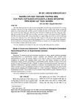 Nghiên cứu độc tính bán trường diễn của phức hợp Nanochitosan/PLA mang Nifedipine trên động vật thực nghiệm