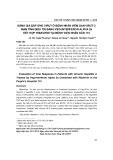 Đánh giá đáp ứng virut ở bệnh nhân viêm gan virut C mạn tính điều trị bằng Peg-interferon alpha 2a kết hợp ribavirin tại Bệnh viện Nhân dân 115