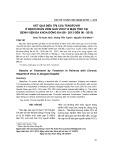 Kết quả điều trị của Tenofovir ở bệnh nhân viêm gan virut B mạn tính tại Bệnh viện Đa khoa Đống Đa (06-2013 đến 06-2015)
