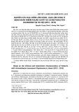 Nghiên cứu đặc điểm lâm sàng, cận lâm sàng ở bệnh nhân nhiễm khuẩn huyết do Acinetobacter baumannii tại Hà Nội (2012-2015)