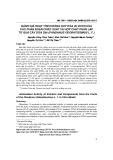 Đánh giá hoạt tính chống oxy hóa in vitro của các phân đoạn chiết xuất và hợp chất phân lập từ quả cây dứa dại
