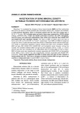 Investigation of bone mineral density in female patients with rheumatoid arthritis