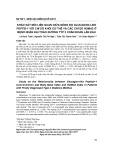 Khảo sát mối liên quan giữa nồng độ Glucagon like peptid-1 với chỉ số khối cơ thể và các chỉ số HOMA2 ở bệnh nhân đái tháo đường týp 2 chẩn đoán lần đầu