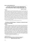Tác dụng của phác đồ FOLFIRI trong điều trị ung thư đại trực tràng tại Bệnh viện Quân y 103
