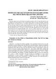 Nghiên cứu hiệu quả sử dụng bộ kít elisa định lượng nọc rắn hổ mang Naja atra trên lâm sàng