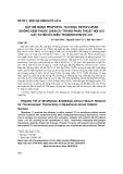 Gây mê bằng Propofol TCI hoặc Sevofluran không kèm thuốc giãn cơ trong phẫu thuật nội soi cắt tuyến ức điều trị bệnh nhược cơ