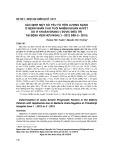 Xác định một số yếu tố tiên lượng nặng ở bệnh nhân cao tuổi nhiễm khuẩn huyết do vi khuẩn gram (-) được điều trị tại Bệnh viện Hữu Nghị (1-2012 đến 5-2015)