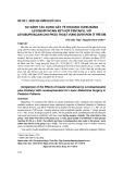 So sánh tác dụng gây tê khoang cùng bằng levobupivacain kết hợp fentanyl với levobupivacain cho phẫu thuật vùng dưới rốn ở trẻ em