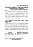 Nghiên cứu tác dụng của chế phẩm Tuệ Đức An Giấc Nữ ở bệnh nhân nữ rối loạn giấc ngủ
