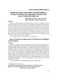 Nghiên cứu định lượng đồng thời metformin và sitagliptin trong chế phẩm bằng phương pháp sắc ký lỏng hiệu năng cao