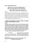 Nghiên cứu xây dựng phần mềm quản lý khoa học công nghệ tại Học viện Quân y