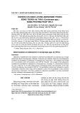 Nghiên cứu định lượng adenosine trong đông trùng hạ thảo bằng phương pháp HPLC