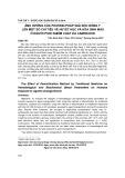 Ảnh hưởng của phương pháp giải độc đông y lên một số chỉ tiêu về huyết học và hóa sinh máu ở người phơi nhiễm chất da cam/dioxin