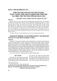 Phân tích tính phù hợp của việc sử dụng thuốc chống trầm cảm cho bệnh nhân trầm cảm tại 3 bệnh viện tâm thần trên địa bàn Hà Nội