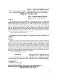 Xây dựng tiêu chuẩn cơ sở nguyên liệu pidotimod tổng hợp tại Việt Nam