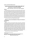 Nghiên cứu độc tính cấp và bán trường diễn của dịch chiết XG1 trên thực nghiệm