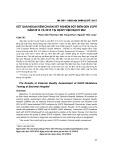Kết quả ngoại kiểm chuẩn xét nghiệm đột biến gen EGFR năm 2014 và 2015 tại Bệnh viện Bạch Mai