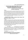 Đánh giá hàm lượng dioxin trong các loại thực phẩm thường dùng (gà, cá, lợn) tại một số vùng miền của Việt Nam