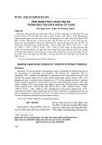 Ứng dụng phẫu thuật nội soi trong điều trị chửa ngoài tử cung