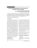 Độc tính bán trường diễn của cao xoa Bách xà trên động vật thực nghiệm