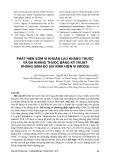 Phát hiện sớm vi khuẩn lao kháng thuốc và đa kháng thuốc bằng kỹ thuật kháng sinh đồ soi kính hiển vi (Mods)