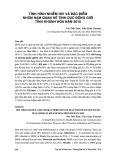 Tình hình nhiễm HIV và đặc điểm nhóm nam quan hệ tình dục đồng giới tỉnh Khánh Hòa năm 2010