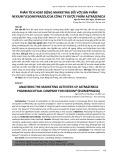Phân tích hoạt động marketing đối với sản phẩm nexium (Esomeprazol) của Công ty dược phẩm Astrazeneca
