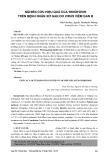 Nghiên cứu hiệu quả của Tenofovir trên bệnh nhân xơ gan do virus viêm gan B