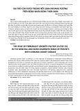 Vai trò của FGF23 trong rối loạn khoáng xương trên bệnh nhân bệnh thận mạn